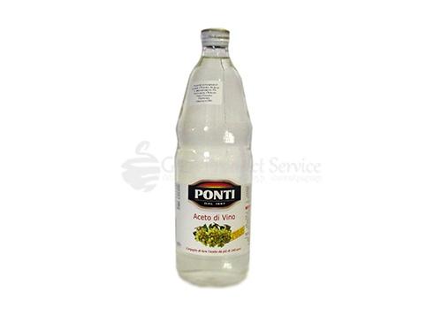 """Քացախ """"Ponti"""" սպիտակ խաղող 1լ"""